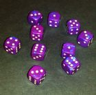 12mm Interferenz Spot Dice - Purple